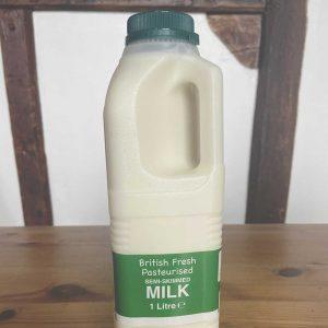 1 Litre Semi Skimmed Milk