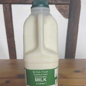 2 Litre Semi Skimmed Milk