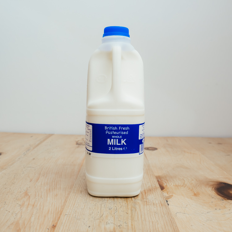 Hilltop Farm shop's product:2-litre-whole-milk 2