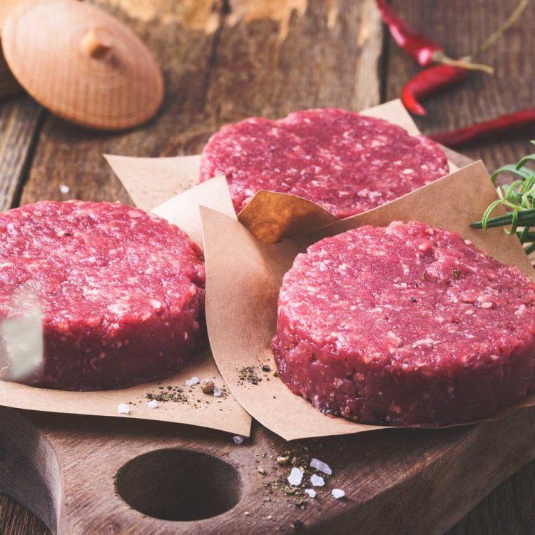 28-Day-aged Beef Burger Pattie