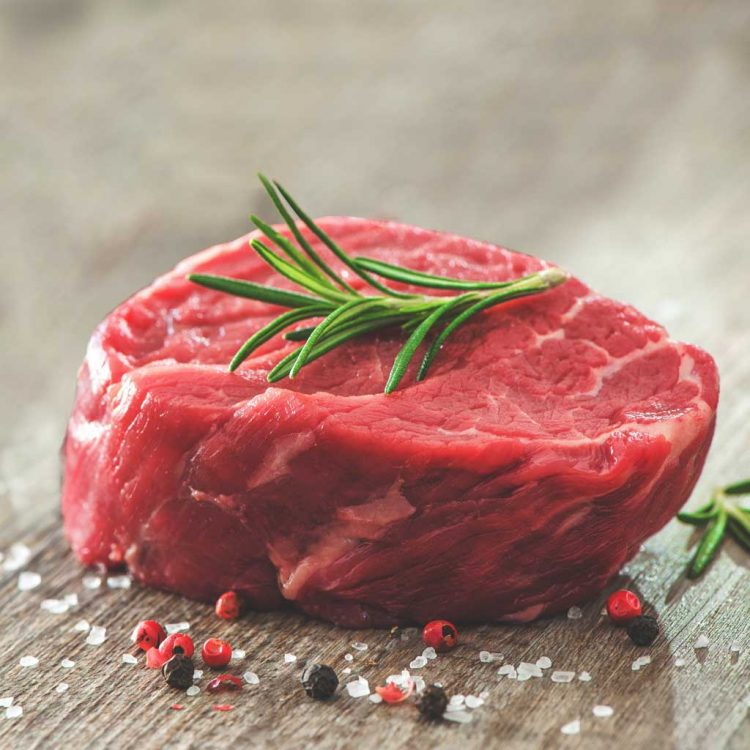 28-Day Matured Grass Fed Fillet Beef Steak