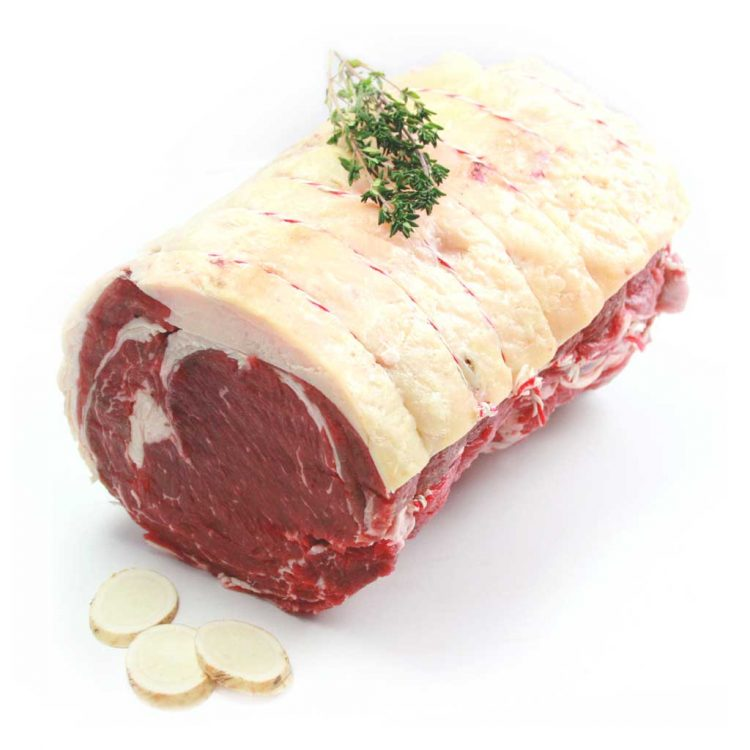 28-Day Matured Grass Fed Beef Sirloin Joint