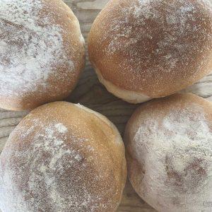 Freshly Baked Soft White Rolls