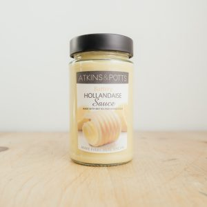 Hilltop Farm shop's product: Atkins & Potts Hollandaise sauce
