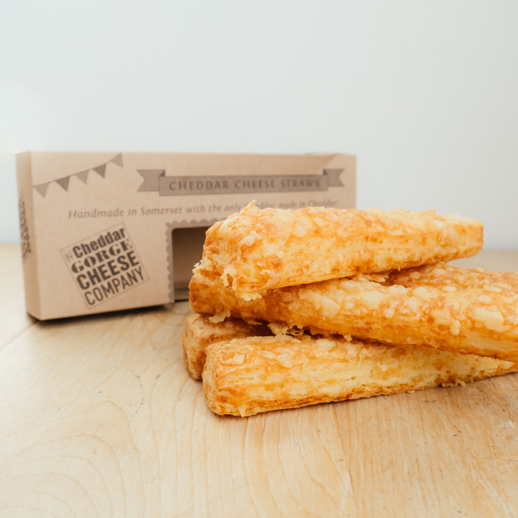 Hilltop Farm shop's product: Cheddar-Cheese-Straws-boxed