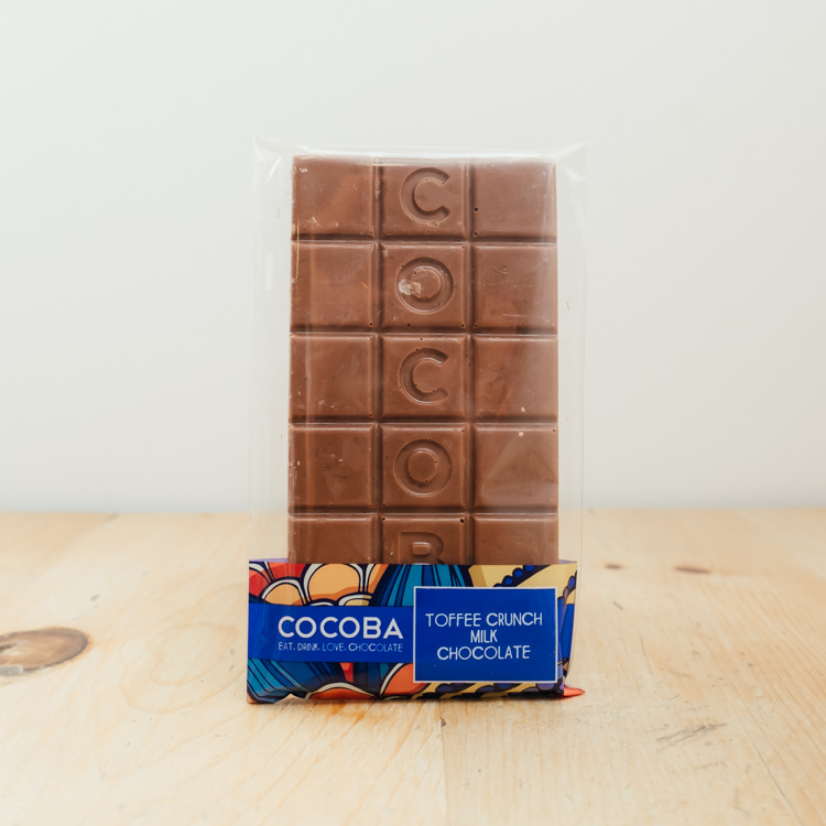 Hilltop Farm shop's product: Cocoba Milk Chocolate
