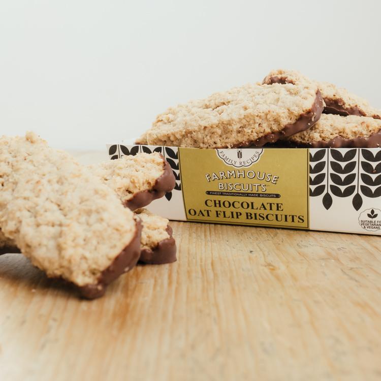 Hilltop Farm shop's product: Farmhouse Biscuits Chocolate Shortbread 2