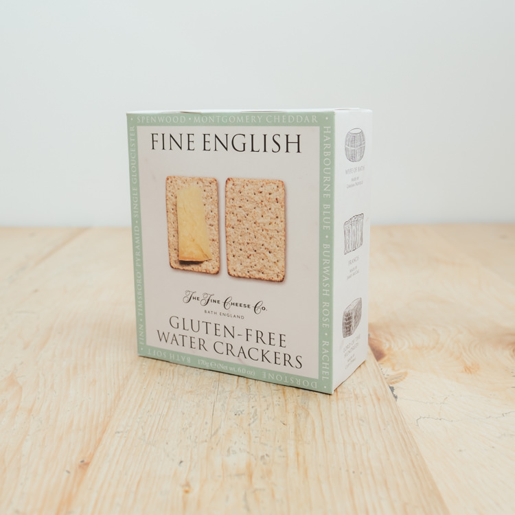 Hilltop Farm shop's product: Fine English Gluten Free Water Crackers