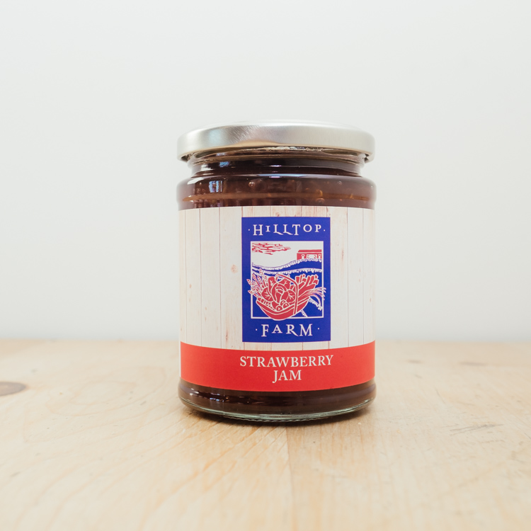 Hilltop Farm shop's product: Strawberry Jam