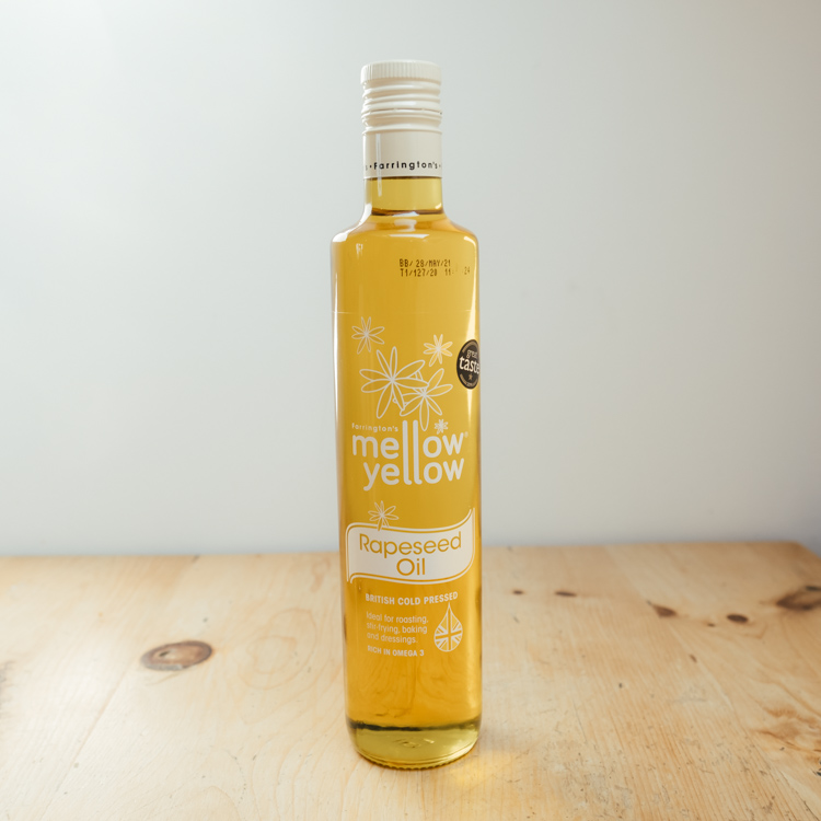 Hilltop Farm shop's product:Mellow Yellow Rapeseed Oil