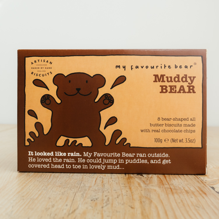 Hilltop Farm shop's product:Muddy Bear Chocolate Chip Biscuits