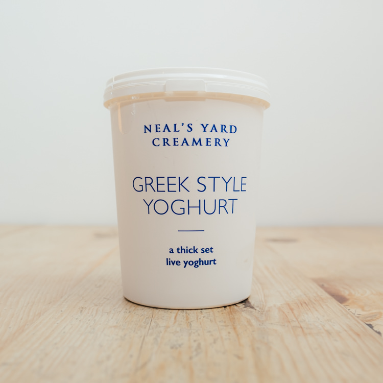 Hilltop Farm shop's product: Neal's Yard Creamery Greek Style Yogurt