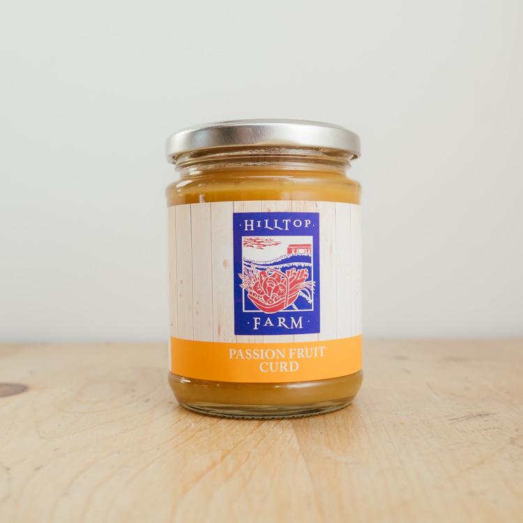 Hilltop Farm shop's product: Passion Fruit Curd