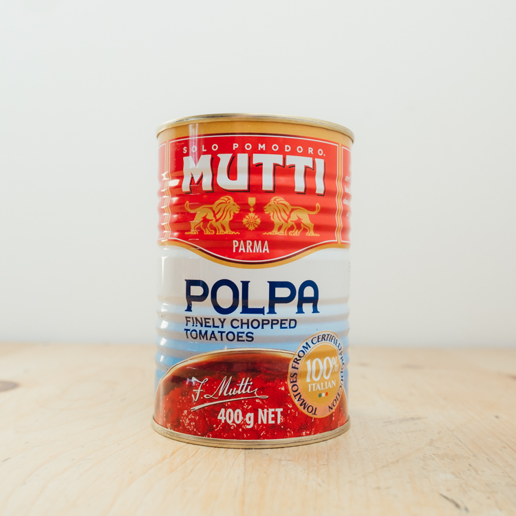 Hilltop Farm shop's product:Polpa-Tinned-tomatoes