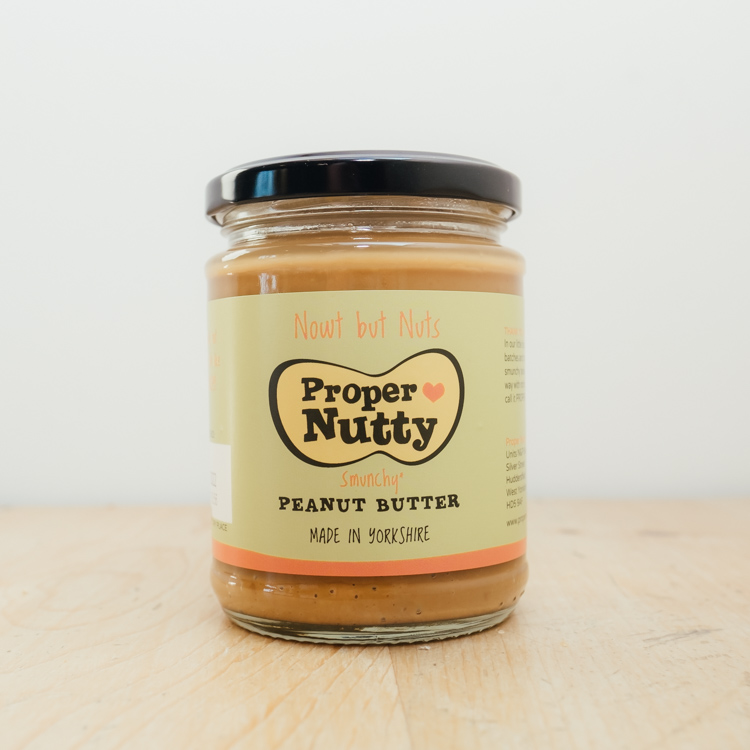Hilltop Farm shop's product: Proper Nutty Smunchy Peanut Butter
