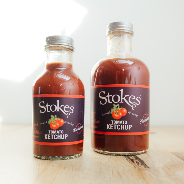 Hilltop Farm shop's product:Stokes Tomato Ketchup range