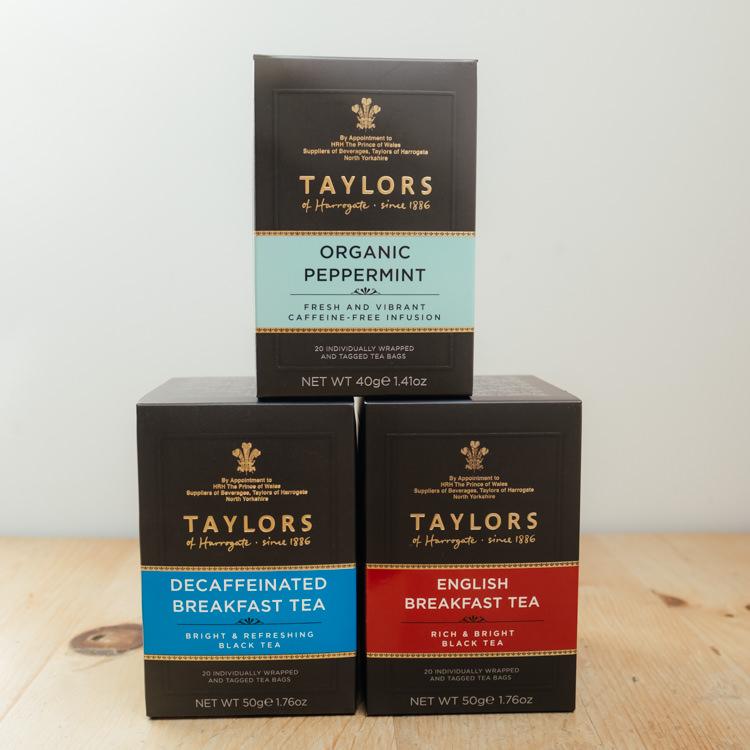 Hilltop Farm shop's product: T of H Tea range