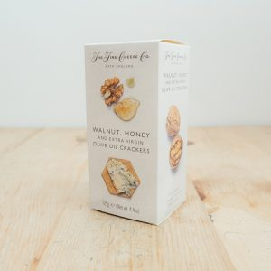 Hilltop Farm shop's product: The Fine Cheese Co. Fig, Honey & Olive Oil Crackers
