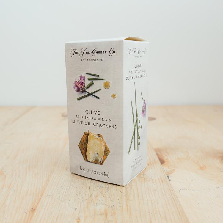 Hilltop Farm shop's product:The-Fine-Cheese-Co.-Olive-Oil-Sea-Salt-Crackers