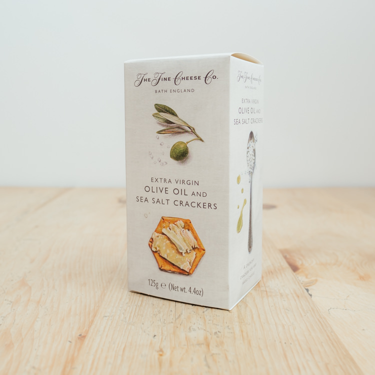 Hilltop Farm shop's product: The Fine Cheese Co. Olive Oil & Sea Salt Crackers