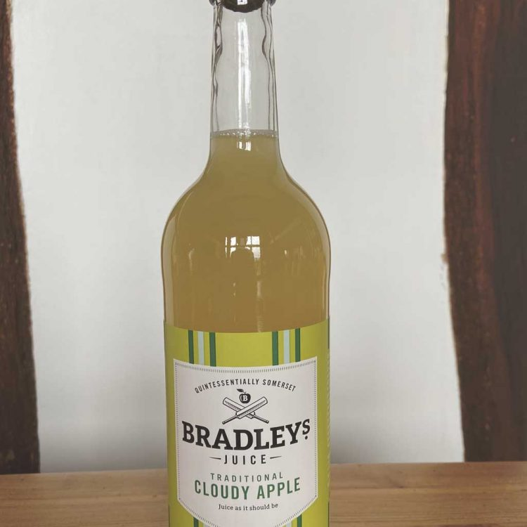 Bradley's Cloudy Apple Juice