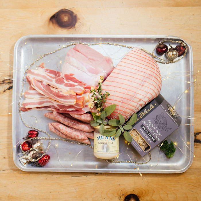 Christmas Meat Box from Hilltop Farm