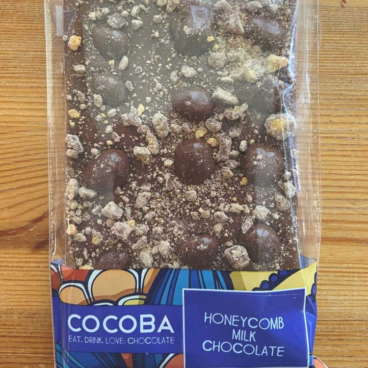 Cocoba Honeycomb Chocolate Bar