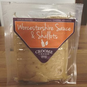 Croome Cheese Worcestershire Sauce & Shallots