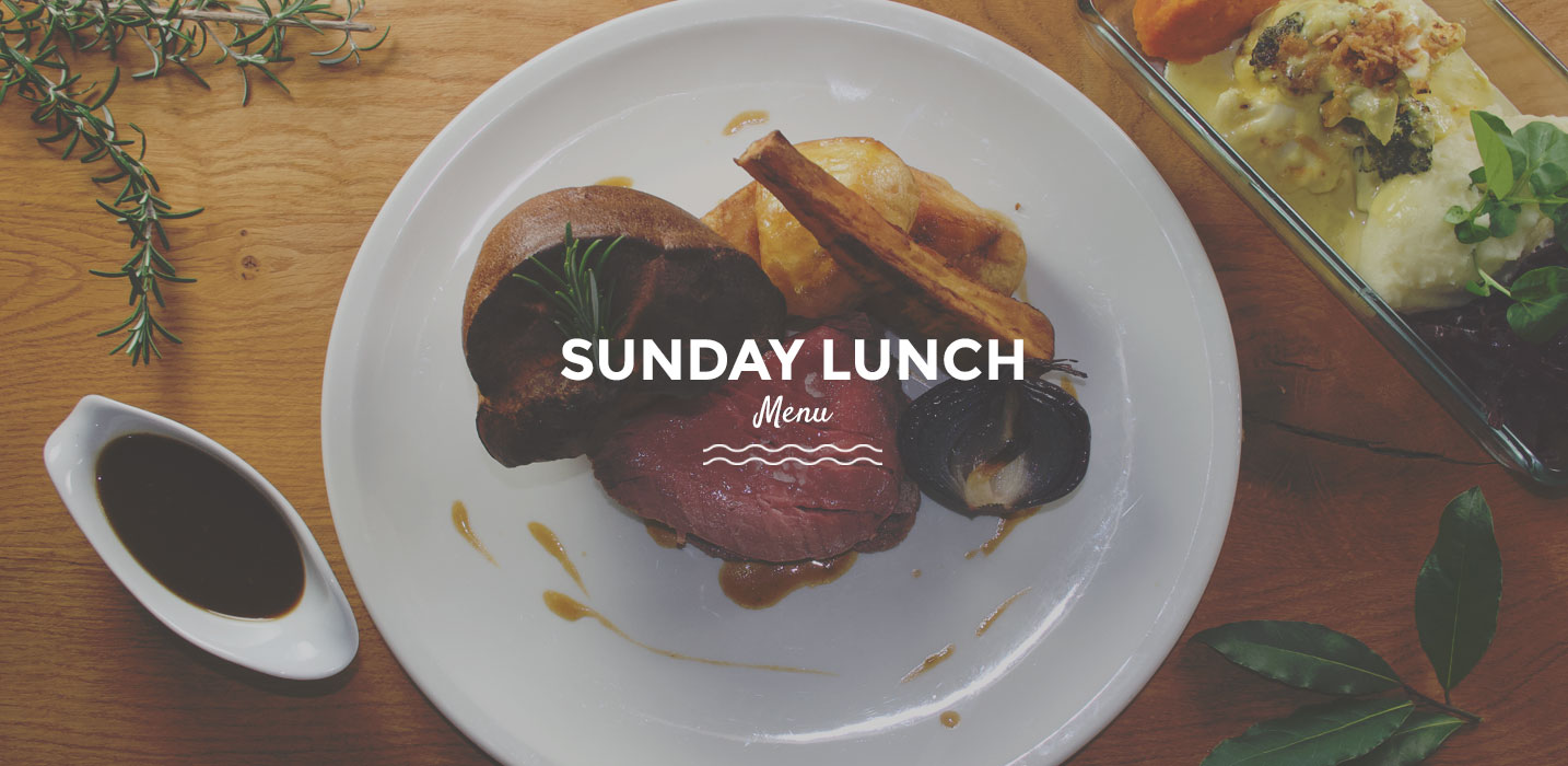 View the Sunday Lunch Menu