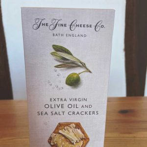 The Fine Cheese Co Olive Oil & Sea Salt Crackers