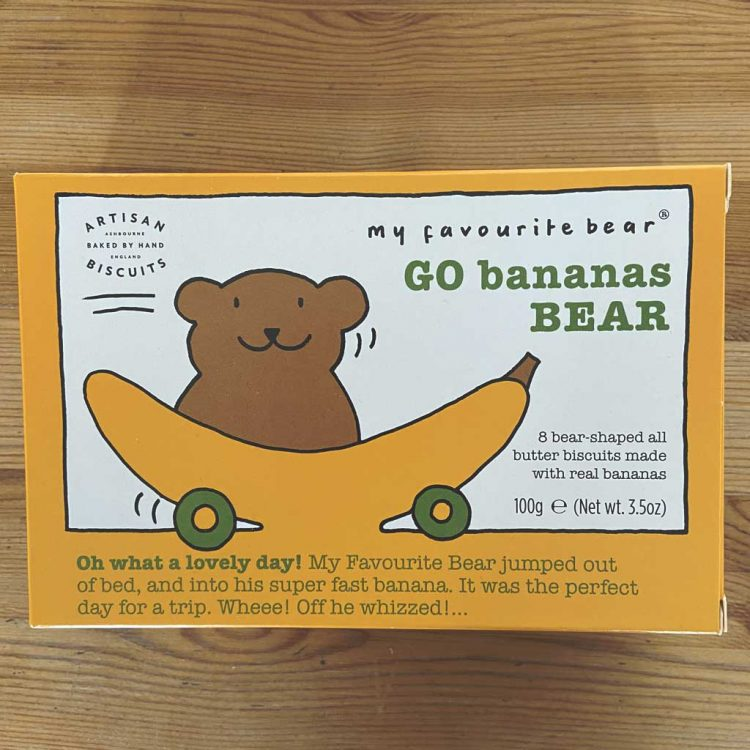 Go Bananas Bear Biscuits