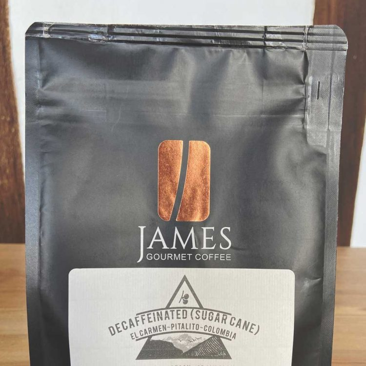 James Gourmet Coffee - Decaf