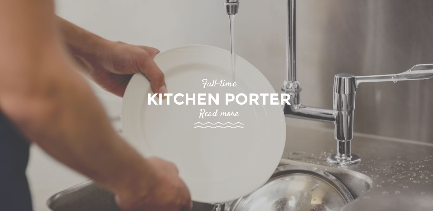 Kitchen Porter Job