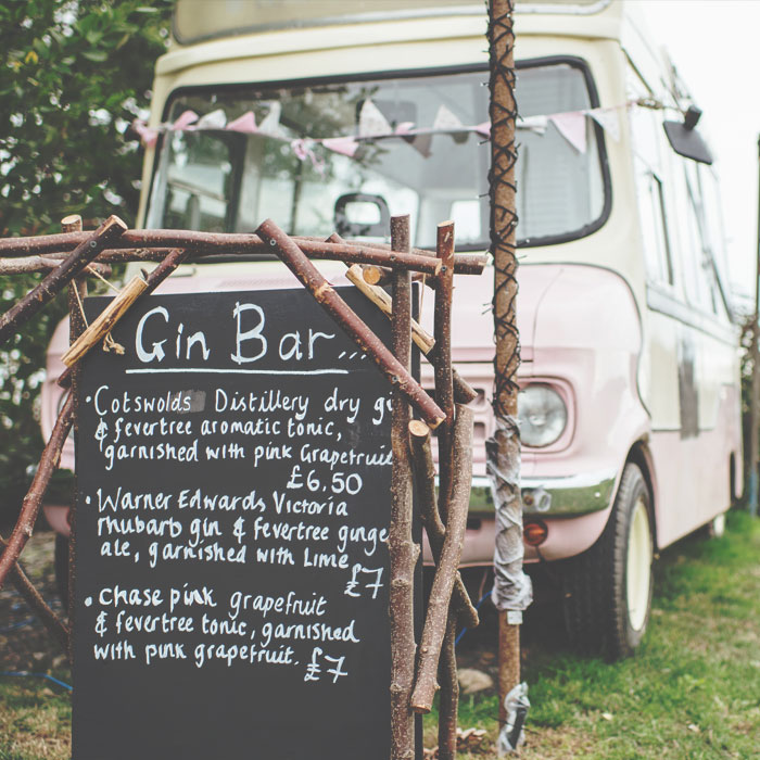 Party Venue Gin Bar - Hilltop Farm