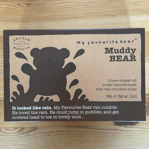 Muddy Bear Chocolate Chip Biscuits