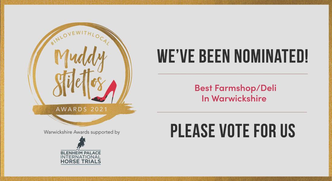 Muddy Stilettos 2021 - Best Farm Shop & Cafe Nomination