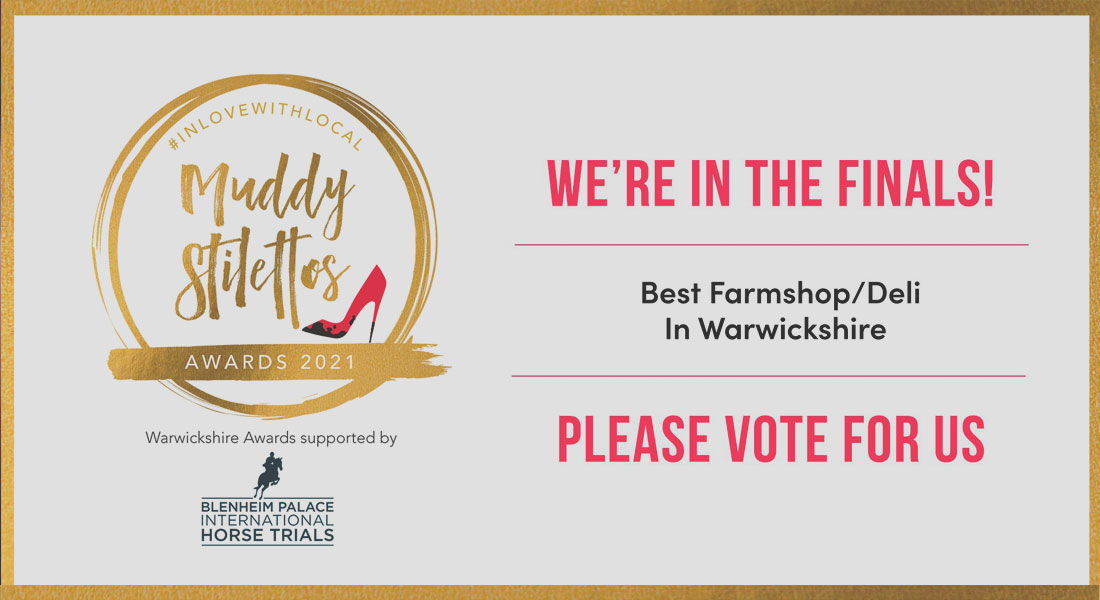 Muddy Stilettos Awards - We are in the Finals!