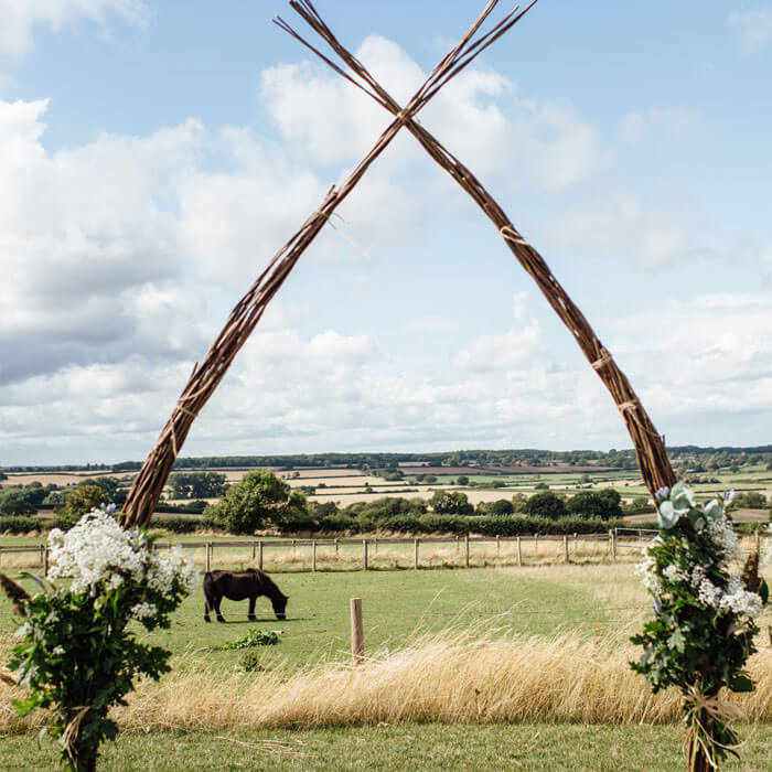Rustic Wedding Venue - Hilltop Farm