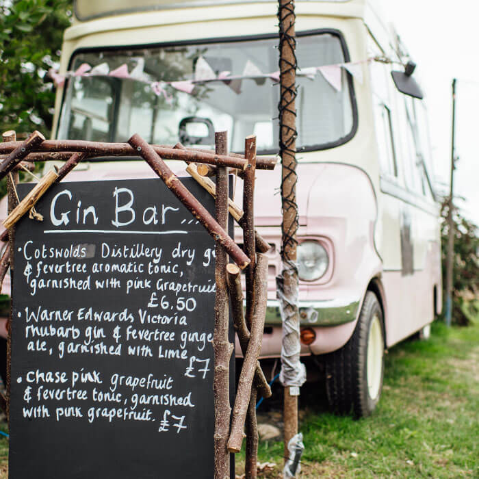 Mobile Gin Bar - Hilltop Farm